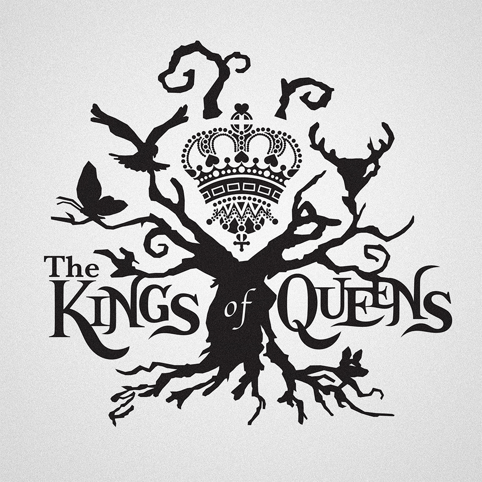 David Sjöqvist - logotype for The Kings of Queens
