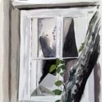 Fönster (akvarell)